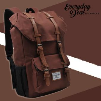 Harga Everyday Deal Travel Laptop Backpack (Brown)