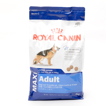 Harga Royal Canin Size Health Nutrition Maxi Adult Dry Dog Food 4kg