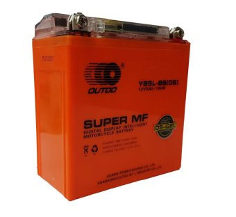 Harga OutDo YB-5L-BS(DS) (12N5) Gel Type Motorcycle battery