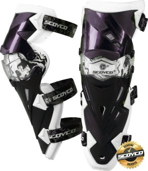 Scoyco Premium Gears K-Series K12 Motorcycle Knee Pads & Protector Guards Protector (White) Price Philippines
