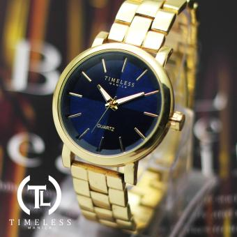 Timeless Manila Patricia Elegant Linear Metal Watch (Navy Blue) Price Philippines