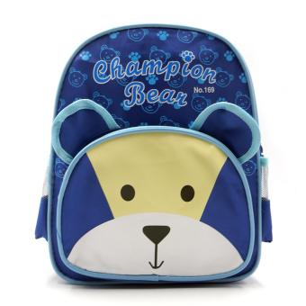 HAPPY KIDS Trendy Kids Unisex Backpack Outdoor Bag (Bear Design) Price Philippines