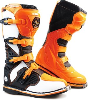 Scoyco® MBM-Series MBM-001 Motorcycle International Boots Motocross MX Racing (Orange) (Size 46) Price Philippines