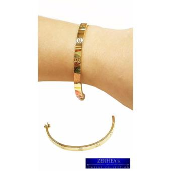 Saudi Gold 18karat Cartier Bangle Price Philippines
