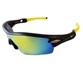 Fury Rivbos 0805 Multi Lens Sports Sunglasses (Black / Yellow) Price Philippines