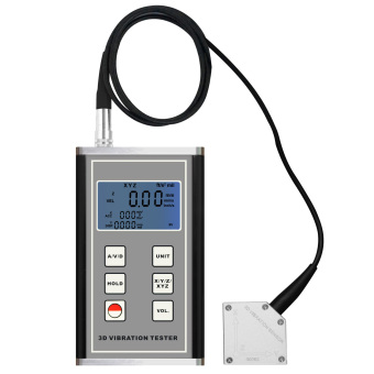 Harga VM-6380 Digital Multi Vibration Meter with 3 Axis Piezoelectric Sensor Accelerometer Vibrometer