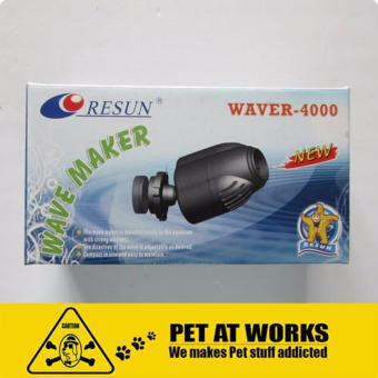 Harga Resun Waver-4000 6W Wave Maker For Fish Aquarium Tank, Planted Tank, Reef Tank, Marine Tank and Salt Water Tank
