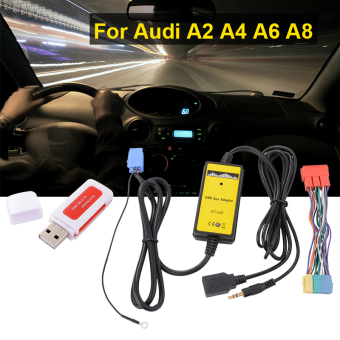 Harga USB AUX Adapter Car Audio Interface Digital CD Changer for Audi A2 AllRoad AC471 - Intl