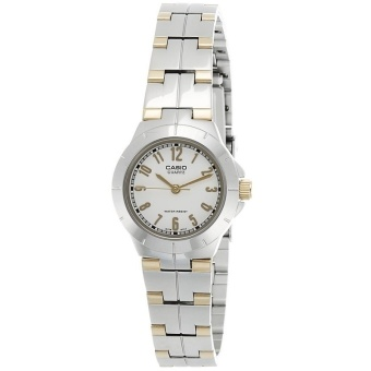 Harga Casio General Ladies Watch Metal Fashion- LTP-1242SG-7ADF