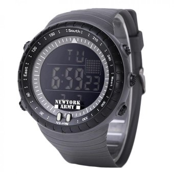 Harga Newyork Army Digital Cardinal Men's Watch NYA1302 - Grey