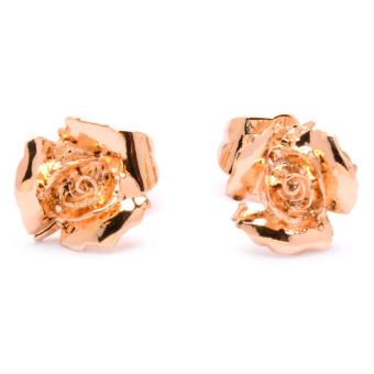 Harga Jewelworld Rose Plated Earrings (gold)