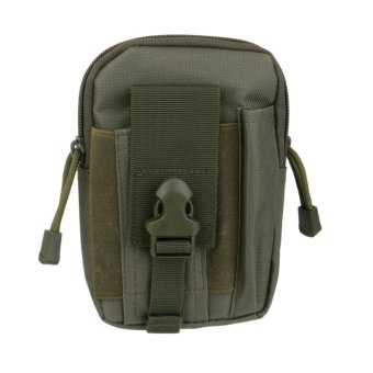 Harga Outdoor Tactical Waist Fanny Pack Bag Army Green