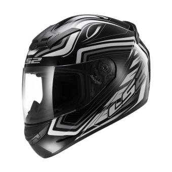 Harga LS2 Full Face FF352 Ranger Helmet (Black/White)