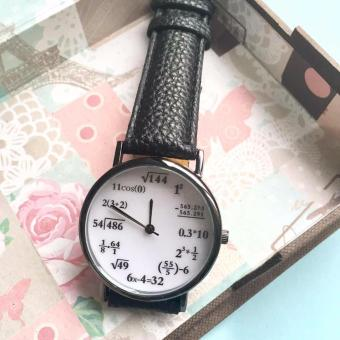 Math Equation Geek Leather Watch Price Philippines