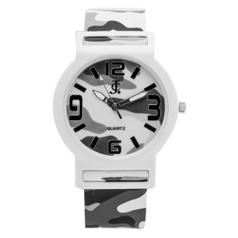 Harga JC Kid's White Camouflage Rubber Strap