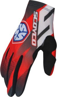 "Scoyco® MX-Series MX-56 Motorcycle Gloves ""Lycra"" Material Motocross MX Racing (Red) (XL) Price Philippines"