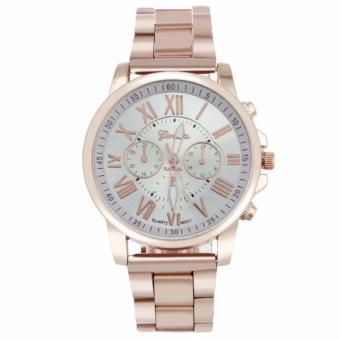 Geneva Roman Numeral Rosegold Metal Band Price Philippines