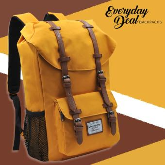Harga Everyday Deal Travel Laptop Backpack (Mustard Yellow)