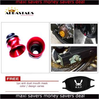 Motorcycle Axle Nut Cover Axel Nut Universal Cap Red for Honda TMX 125 Alpha Price Philippines