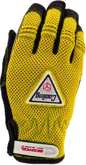 Harga Scoyco® LE-Series LE-01 Motorcycle Gloves Reflective (Yellow) (XL)