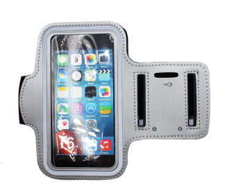 Harga TECH GEAR Sport Armband for iPhone 6 (Silver/Gray)