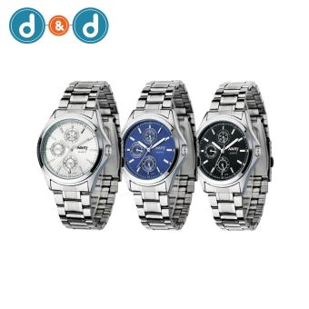 Harga NARY Women's Digital Stainless Steel Quartz Watch C-NR-6104-Steel Set of 3