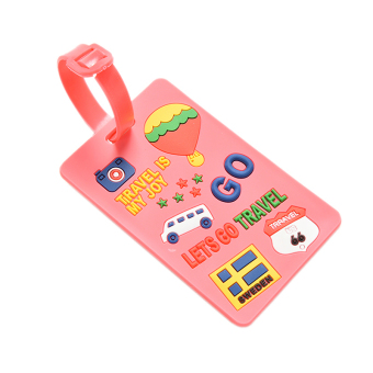 Buytra Luggage Tags Labels Strap Name Address ID Suitcase Bag Baggage Travel Label Pink Balloon Price Philippines