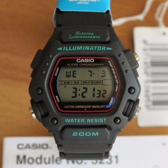 Harga Casio Mission Impossible Men's Digital Watch DW-290-1VS