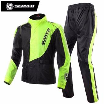 Scoyco RC01 Men's Waterproof Motorcycle Jacket with Pants - Large Price Philippines