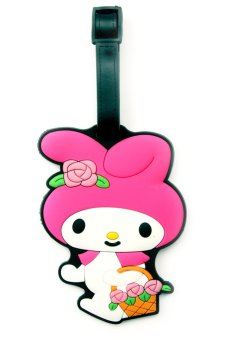 Harga Travel Manila Character Luggage Bag Tag with Name, ID, Address Label ( Melody )