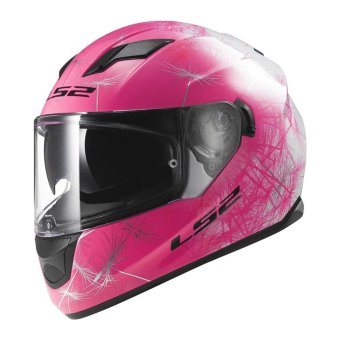 Harga LS2 Full-Face FF320 Wind Helmet (White/Pink)