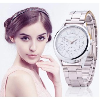 Geneva Silver/White Roman Numerals Wrist Watch Price Philippines