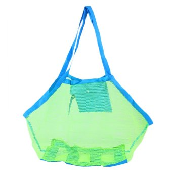 Gracefulvara Large Sand Beach Mesh Bag Children Beach Toys Clothes Towel Toy Collection Net Bag Price Philippines