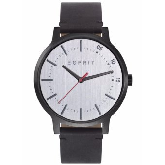 Harga Esprit Men'S Watch Black Leather Strap Watch Tp10827 Ees108271003
