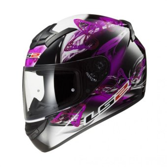 Harga LS2 Full-Face FF352 Flutter Helmet (Black/Purple)