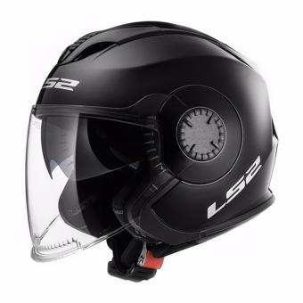 Harga LS2 Open Face OF570 Verso Helmet (Black)