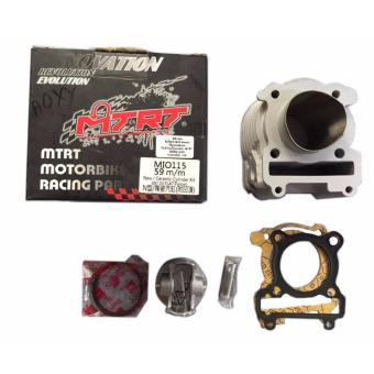 Harga MTRT CYLINDER BLOCK CHROME BORE for MIO115 59m/m New Ceramic Cylinder Kit (w/ 2V Flat Piston)