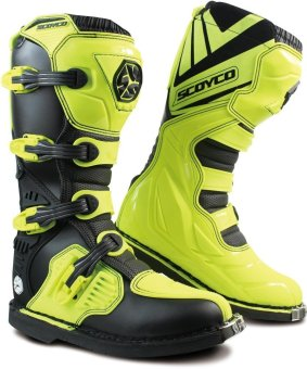 Scoyco® MBM-Series MBM-001 Motorcycle International Boots Motocross MX Racing (Yellow) (Size 43) Price Philippines