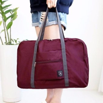Wind Blows Folding Carry Bag (Maroon) Price Philippines
