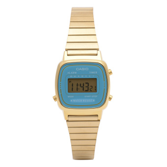 Casio Women's Vintage Digital LA670WGA-2DF (Gold) Price Philippines