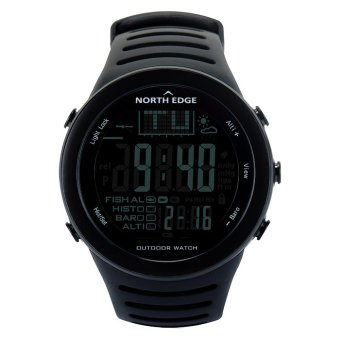 Harga Digital watches Men Sport Watch with Weather forecast Altimeter Barometer Thermometer Altitude for Mountaineer Climbing Hiking Fishing Outdoor sports