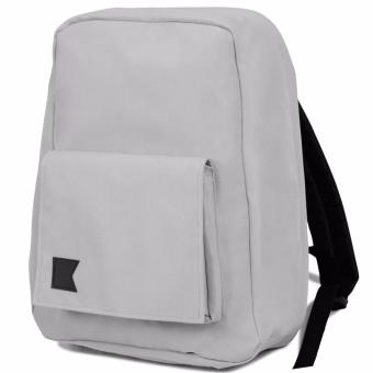 KISHU travel backpack / Hidden zippers/ Anti theft / Laptop / Premium (LIGHT GRAY) Price Philippines