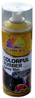 Harga COLORFUL RUBBER SPRAY MED YELLOW