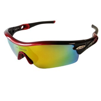 Fury Rivbos 0805 Multi Lens Sports Sunglasses (Black / Red) Price Philippines