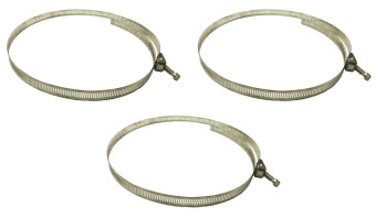 Meisons stainless ss special hose clamp 1 meter long (3 set) Price Philippines