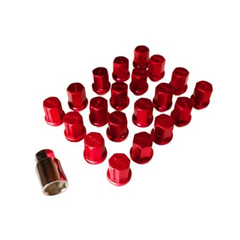 Rays Dura Lug Nuts 1.25 (Red) Price Philippines