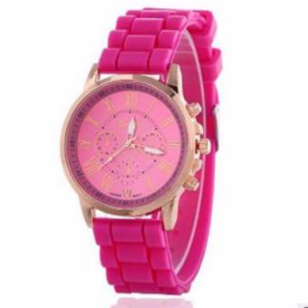 New Geneva Roman Numerals Candy Watch (Pink) Price Philippines