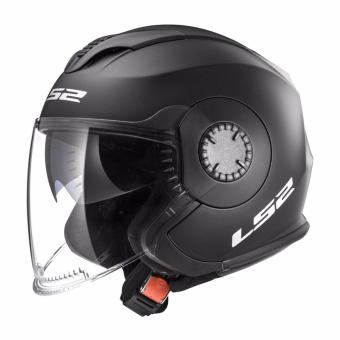 Harga LS2 Open Face OF570 Verso Helmet (Matte Black)