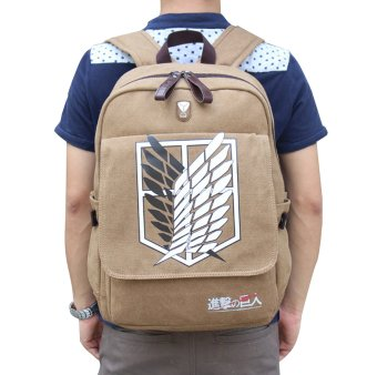 Attack on titan Shingeki no Kyojin Anime Cosplay Backpack Schoolbag Price Philippines