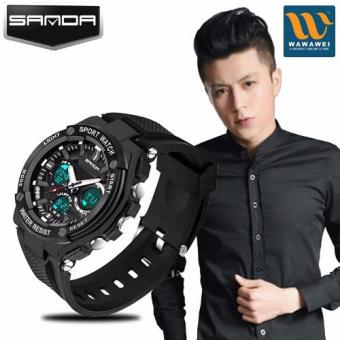 SANDA 733 Fashion Outdoor Sports Multifunctional Waterproof Electronic Watch Price Philippines